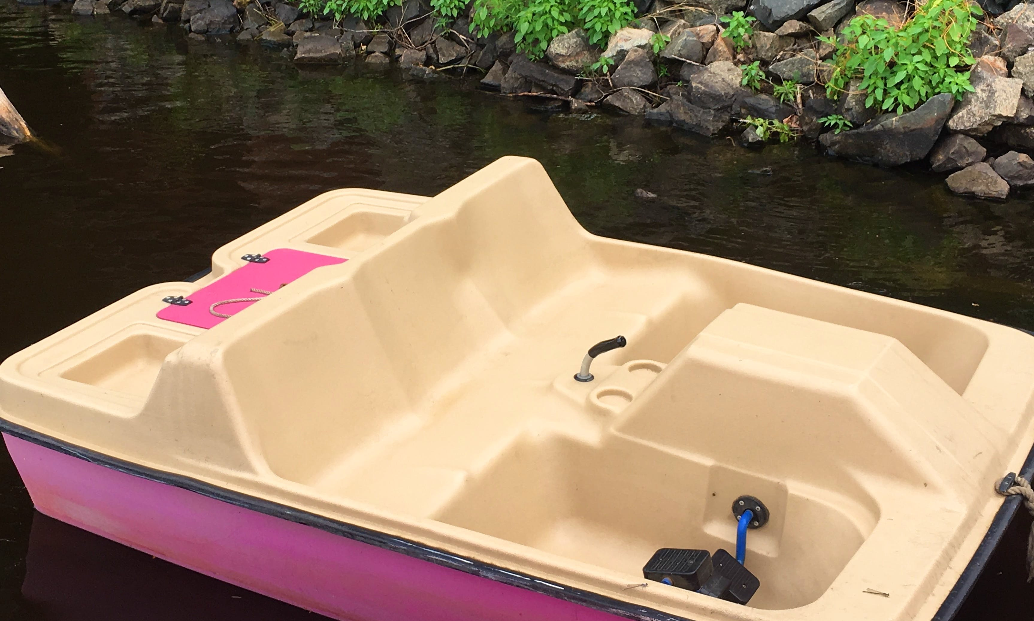 Paddle Boat Rental for 2 People in Wisconsin Rapids, WI