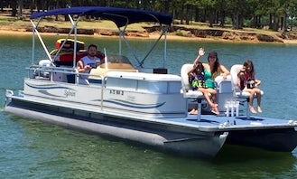 24' Sylvan Mirage Pontoon Rental in Lewisville, Texas