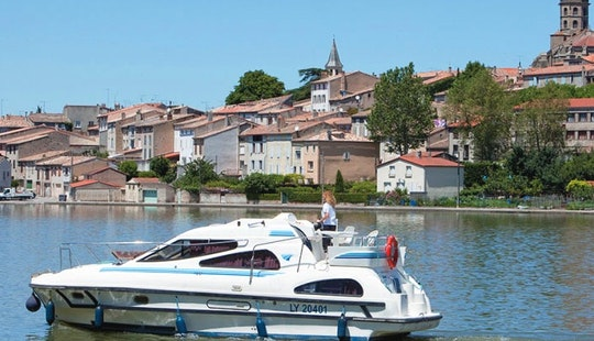 Take A Canal Boat Cruise In Nivernais, France
