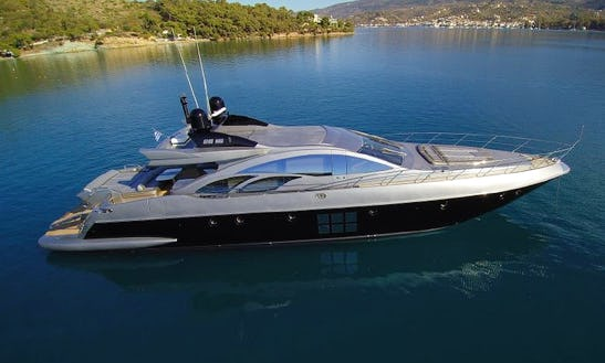 Charter The Yacht Of Your Dreams Azimut S 86 In Mikonos, Greece