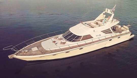 Have An Amazing Time In Mikonos, Greece On 60' Riva Corsaro Power Mega Yacht