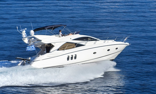 52' Sunseeker Manhattan Power Mega Yacht Charter In Nicosia, Cyprus