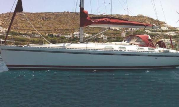 An amazing charter experience in Mikonos, Greece on 45' Beneteau Cruising Monohull