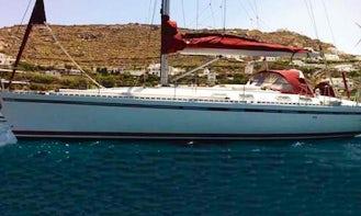 An amazing charter experience in Mikonos, Greece on 45' Beneteau Cruising Monohull
