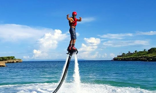 Have An Amazing Flyboarding Experience In Cabrera, Dominican Republic