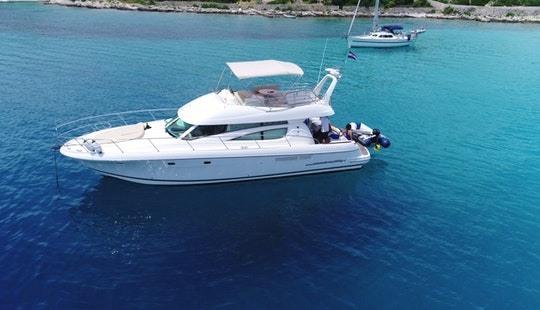 Jeanneau Prestige 46 Fly For 10 Person In Split, Croatia