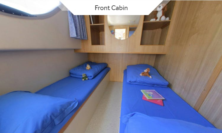 Spacious 43' Canal Boat Rental in Canal du Midi, France