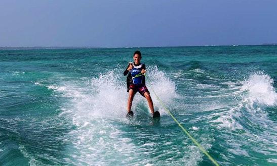 An Amazing Water Skiing Experience In Zanzibar, Tanzania