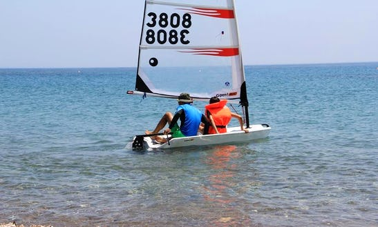 Hit The Water With This Sailing Dinghy In Paphos, Cyprus