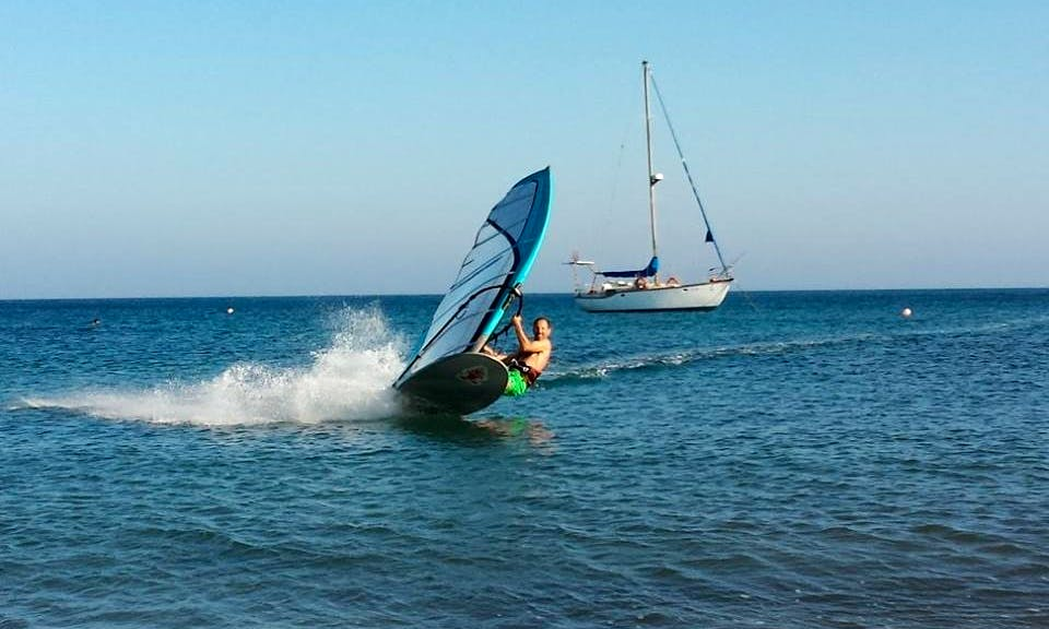 An amazing Windsurfing experience in Paphos, Cyprus