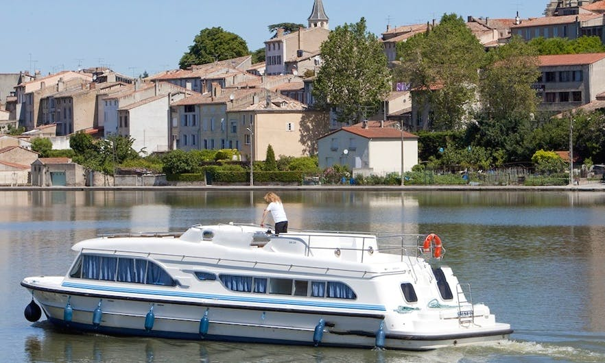 Fabulous 47' Charter Canal Boat in Alsace-Lorraine, France