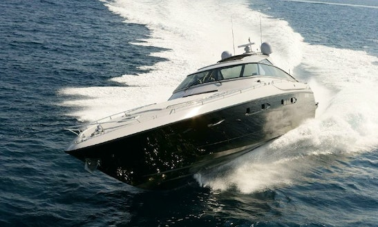 Hit The Water In Vallauris, France On Baia Atlantica 78 Power Mega Yacht