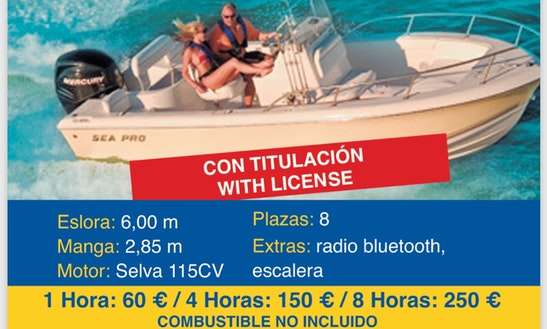 Center Console Rental In Altea
