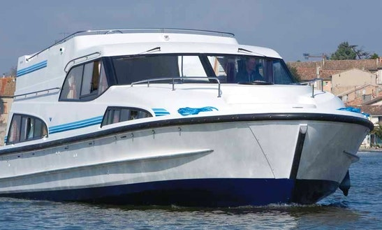 Hire A Fantastic And Spacious 43' Canal Boat In Canal Du Midi, France