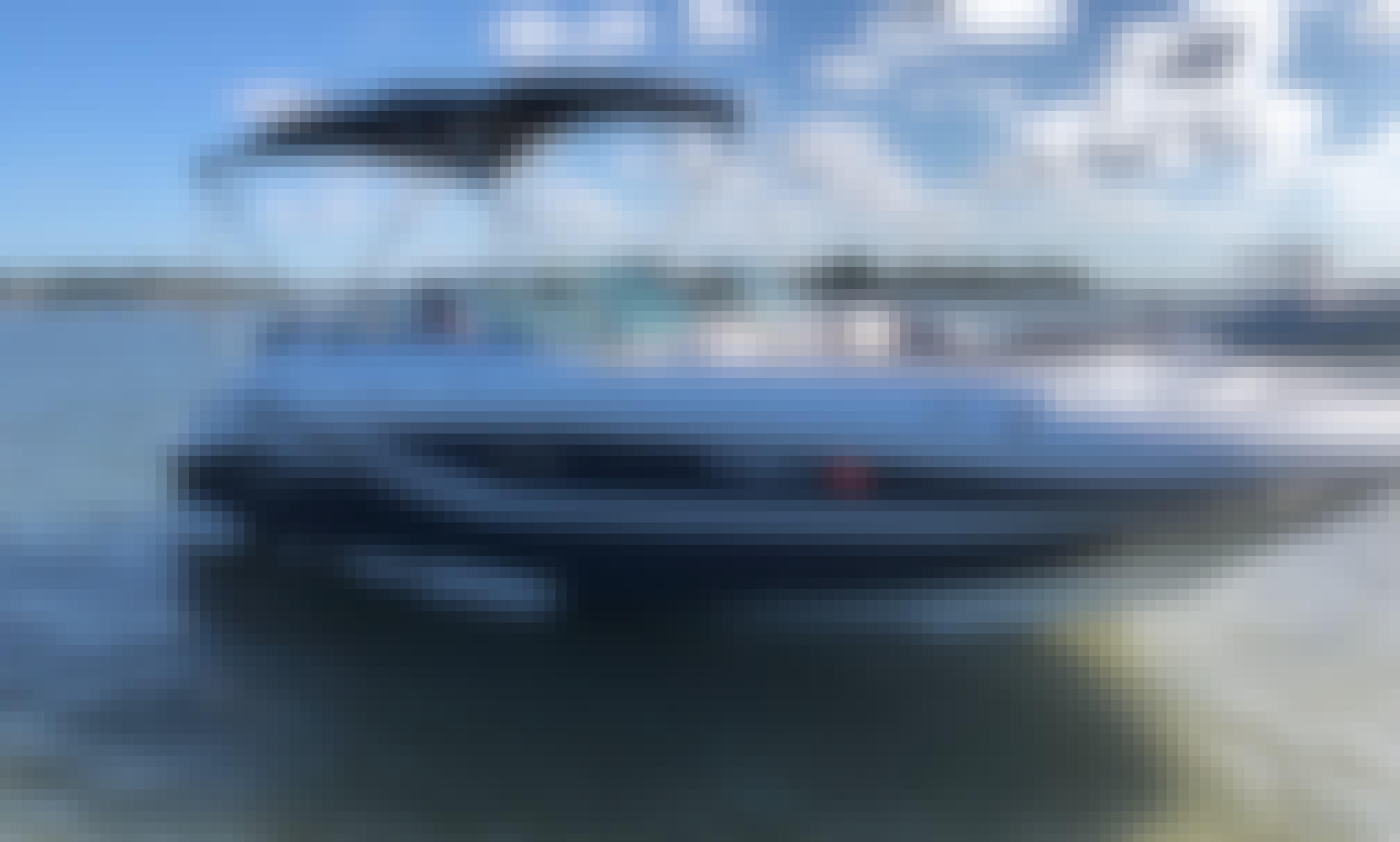 22' Deck Boat rental in West Palm Beach