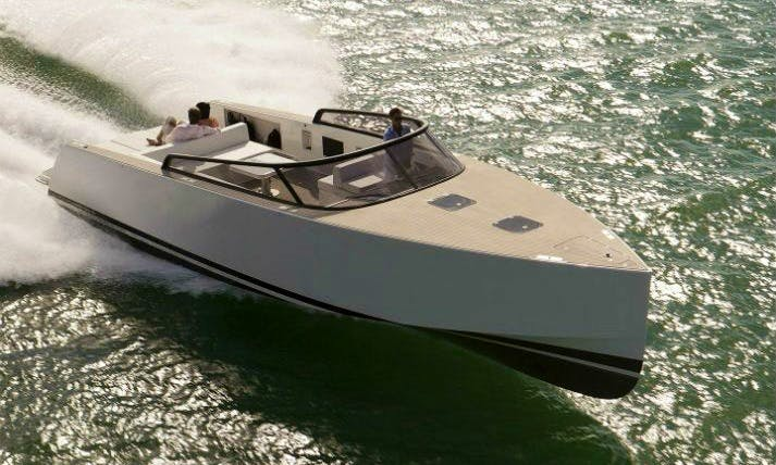 Hit The Water Of Vallauris, France With Vandutch 40 Power Mega Yacht