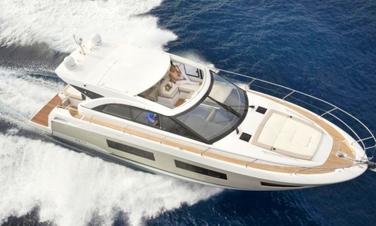 Charter This Classic 48' Jeanneau Leader Motor Yacht In Vallauris, France