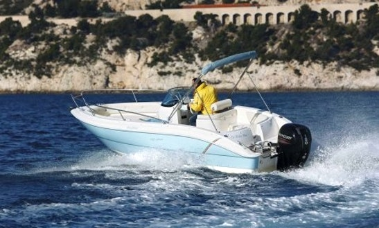 Charter 19' Eolo 590 Open Bowrider In Vallauris, France For 6 People