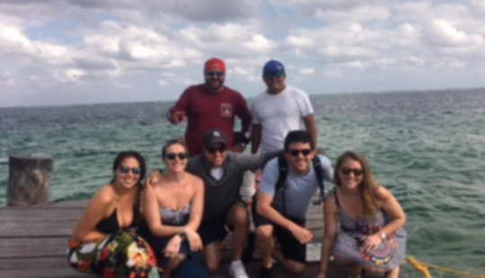 Center Console Fishing Charter In Puerto Morelos
