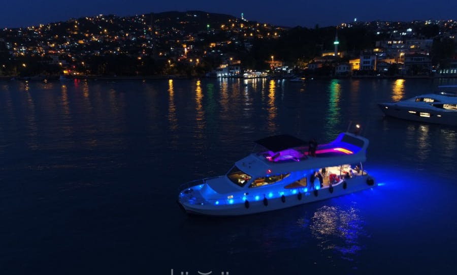 30 person Yacht Charter to explore the waters of İstanbul