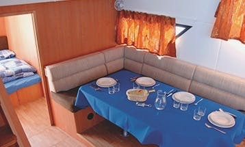 44' Canal Boat for River Cruises in Venice, Italy