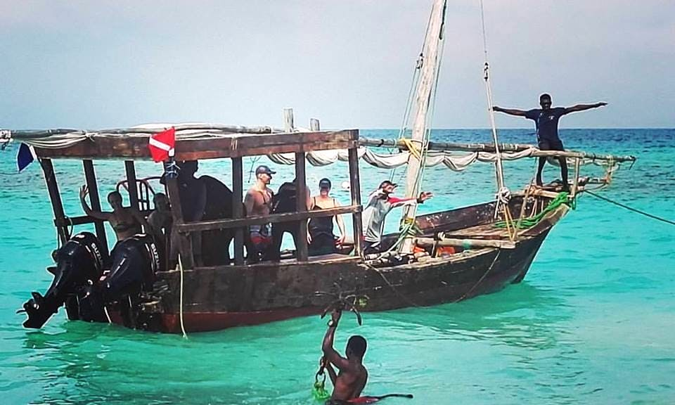 Sunset Cruise on a Traditional Dhow Boat in Zanzibar, Tanzania