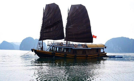 Sailing Junk Boat For 4 People In Thành Phố Hạ Long, Vietnam