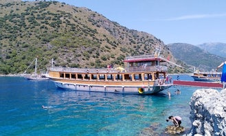 Large Group Boat Tour in Muğla, Turkey for 250 people