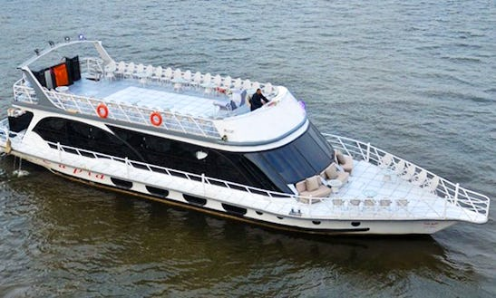 Nile Boat Cruises And Custom Events Venue On Fully Aircondition Mega Yacht
