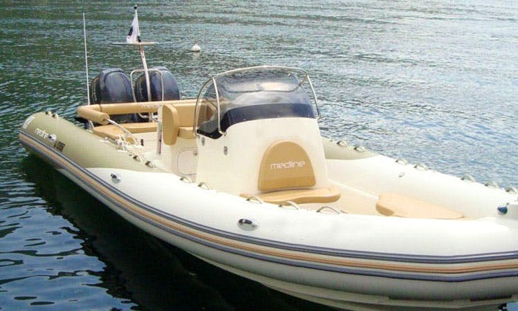 Zodiac Medline 850 for 5 Person Ready to Cruise in Ota, France