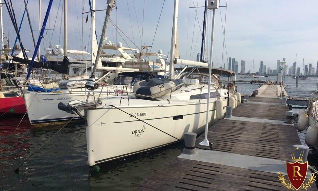 Charter a Sailboat 54 Ft int he Caribbean Sea