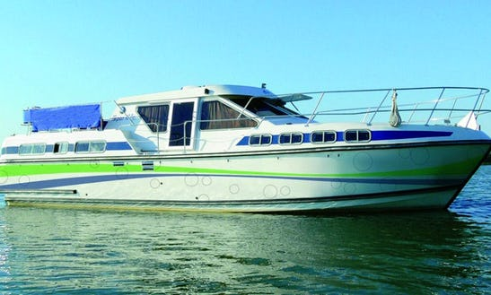 Experience Cruising In The Beautiful Canals Of Oberhausen Aboard 12 People Houseboat