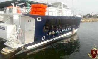 Ferry out of Colombia