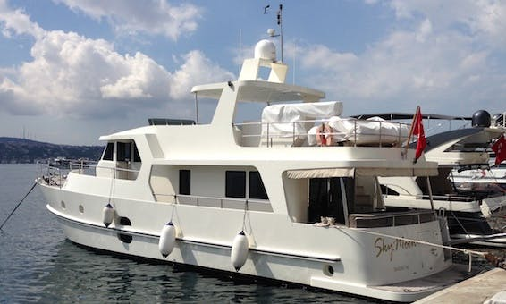 Captained Trawler rental in Istanbul for events or casual cruising