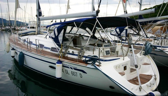 50' Bavaria Cruiser Sailing Yacht Charter For 10 Person In Portocolom, Spain