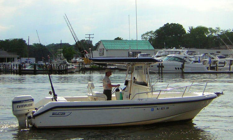 Fishing Adventure with Center Console Rental in Brielle, New Jersey 6 People