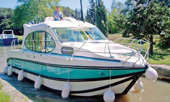 Hire A 29' Cuddy Cabin Motor Boat For 4 People In Bouzies, France