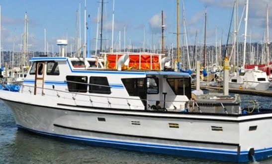 Book This 30 Person Fishing Charter With Captain Andy In Emeryville, California