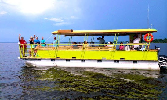 Pontoon Charter & Wildlife Tour In Oviedo, Florida