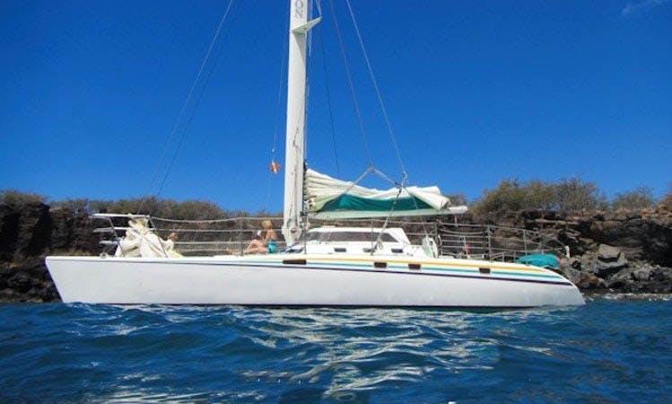 """Charter 47ft """"Paragon"""" Sailing Catamaran In Ka'anapali, Hawaii"""