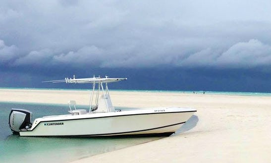 Charter 24' Contender Center Console In Spanish Wells, Bahamas
