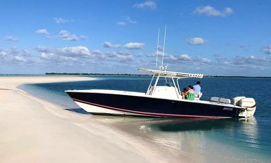 Charter 36' Jupiter Center Console In Spanish Wells, Bahamas