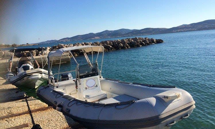 6 People RIB For Rent In Pounta, Greece