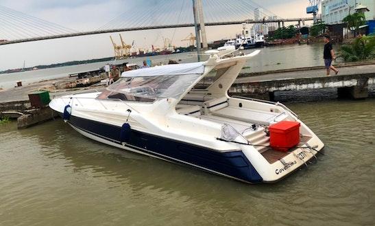 Very Fun Luxury Sunseeker Speedboat For Rent In Saigon $475/hr