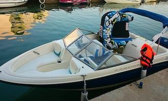 Rent this boat for 180€ in Nin, Croatia