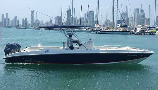 Hit The Water In Cartagena, Colombia On Bravo 29 Center Console