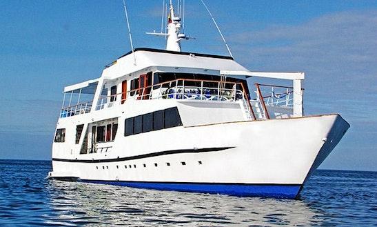 Galaven 88' Motor Yacht Charter In Puerto Ayora