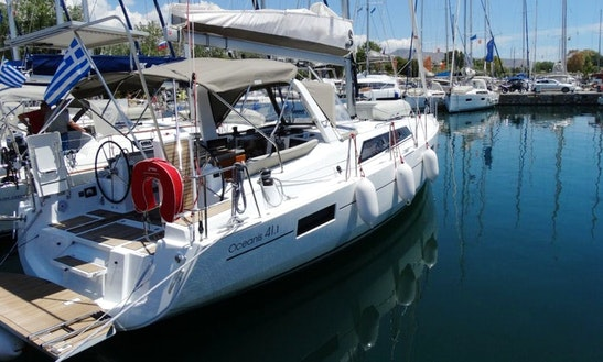 An Amazing Charter Experience In Athens, Greece On 41 Ft Beneteau Oceanis