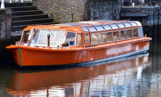 Enjoy Utrecht, Netherlands By Jan Van Der Doom Canal Boat