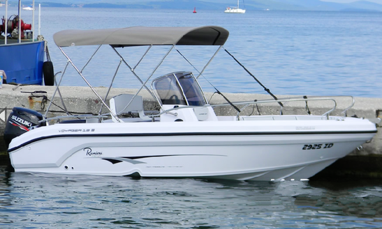 Raniery Voyager 19 S Center Console Charter In Zadar, Croatia For 6 Persons